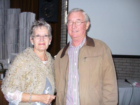Mara Binnedel (sameroeper) bedank die spreker, Chris Lotter.