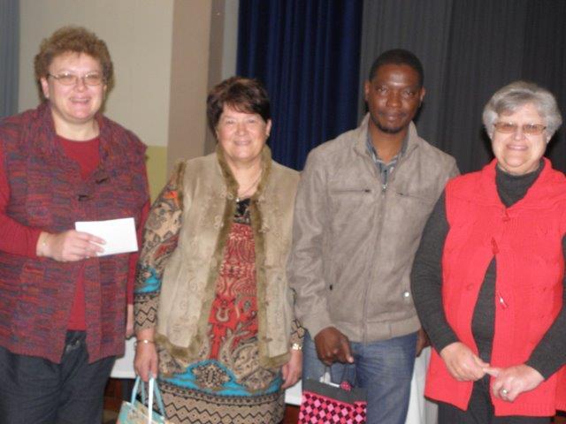 LNR Dalene Hein, Dossie Du Plessis, dr Davies Ndllovu, Sanet Ras.