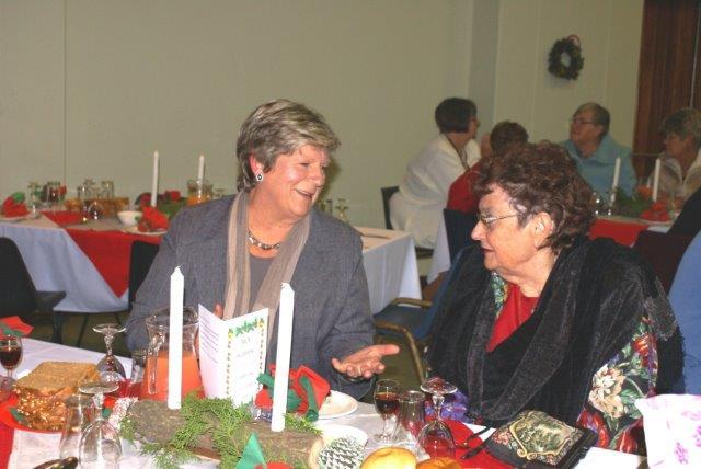 Emmie le Roux, Ita van der Merwe (vorige Sirkelpresident).