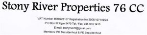 Stony River Properties (Custom)