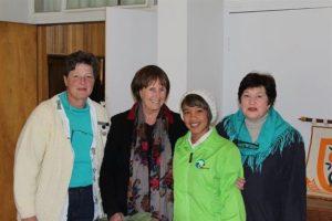 vlnr Astrid Basson, Hannaleen Hough, GeraGaya Frans, Marlena Latsky (Custom)