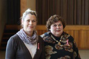 Zanmari en Annette Neethling (voorsitter) (Custom)