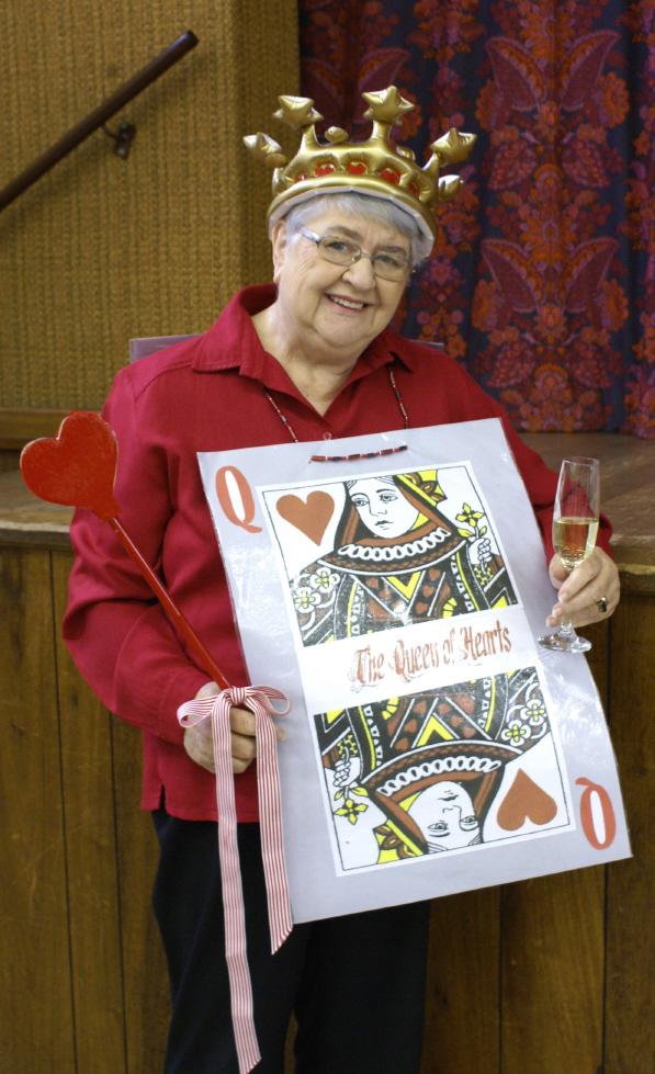 No 1. Sirkelpresident, Caro Ekermans, as Queen of Hearts_2_1