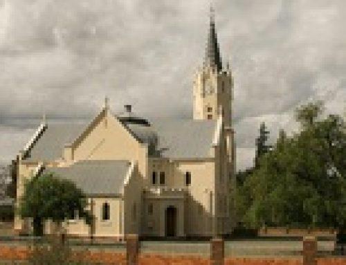 Britstown besoek historiese kerk op Vosburg