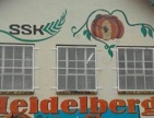 SSK bederf dames op Heidelberg