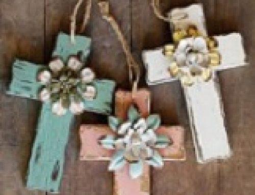 Lede versier kruisies