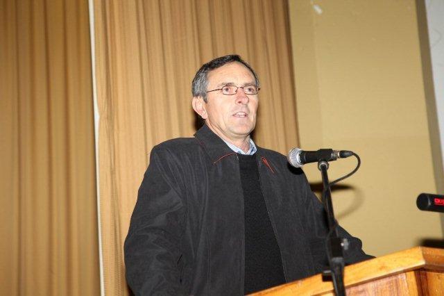 Mnr. Francois de Wet, Besturende Direkteur Mosstrich.