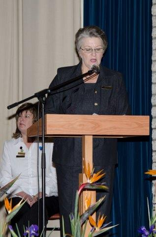 VLVK-visepresident, Karien van Schalkwyk, konstitueer Kongres 2013.