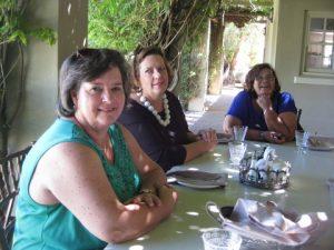 V.l.n.r. Stella Mullineux, Alta Bester, Christina  Kuiler